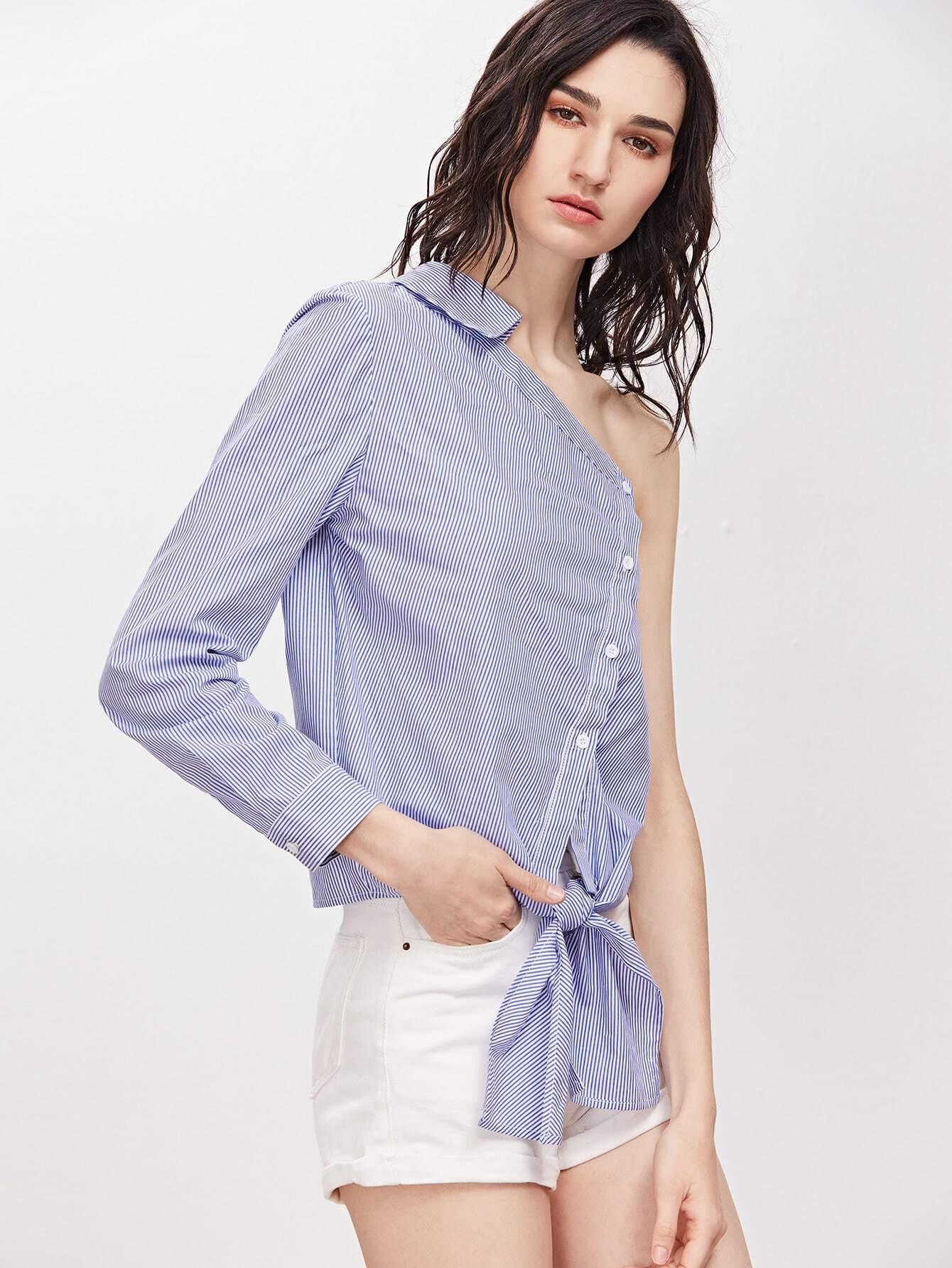 Блузка На Одно Плечо В Уфе