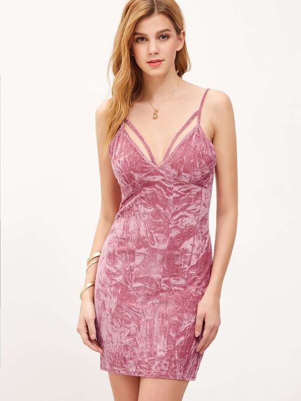 Unique rosa kleid