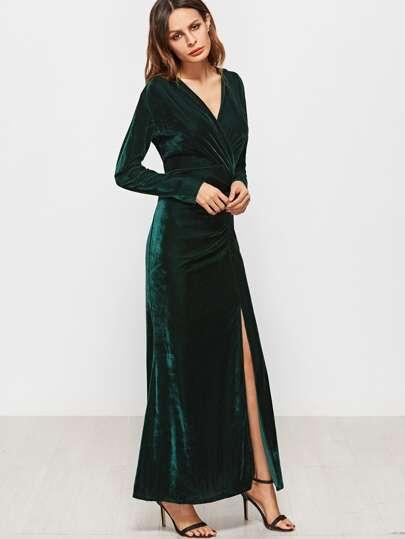 Купить Платье Бархатное Длинное
