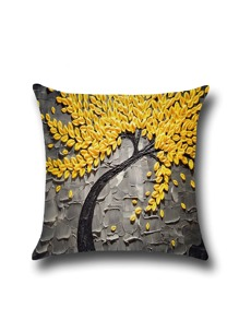 Oil Painting Print Pillowcase Cover