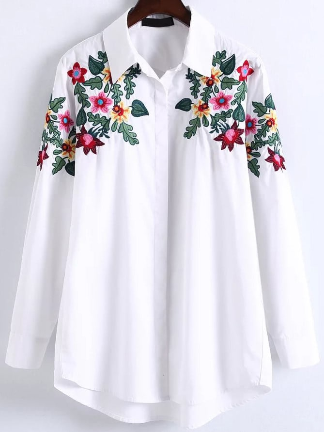 Plus Size High Low Blouses