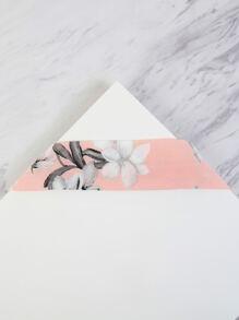 Pastel Floral Sash Choker PINK