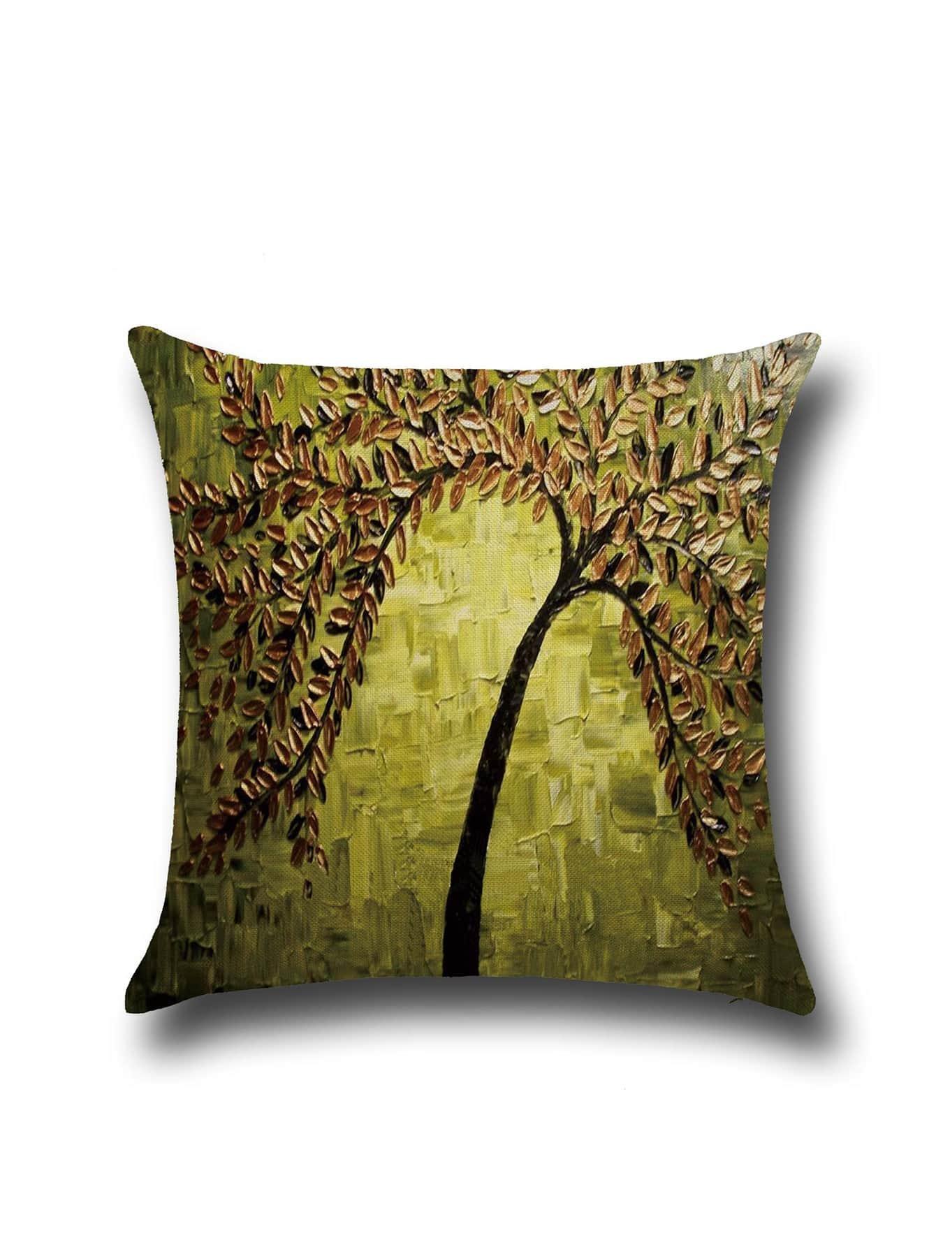 Фото Impressionism Painting Linen Square Pillowcase Cover. Купить с доставкой