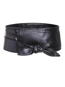حزام الخصرالواسع-أسود
