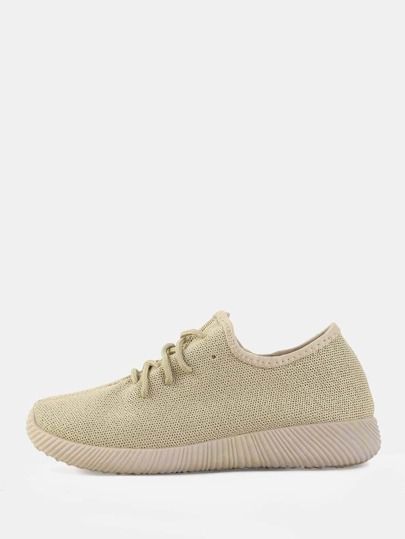 Neutral Multiknit Sneakers TAUPE