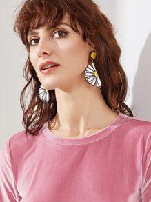 Flower Shaped Cute Ear Cuffs