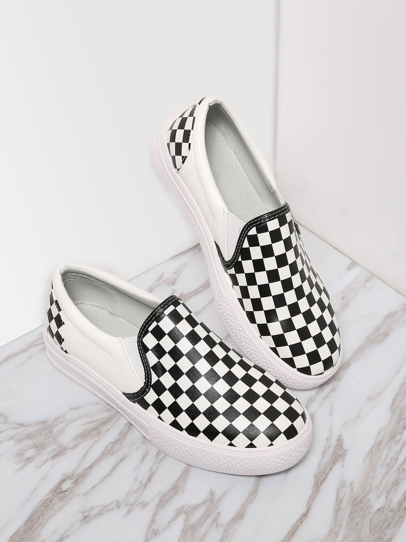 Classic Damier Slip On Low Top Sneakers shoes161026805
