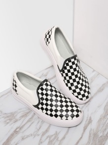 Classic Damier Slip On Low Top Sneakers