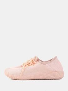 Pastel Flyknit Sneakers PINK