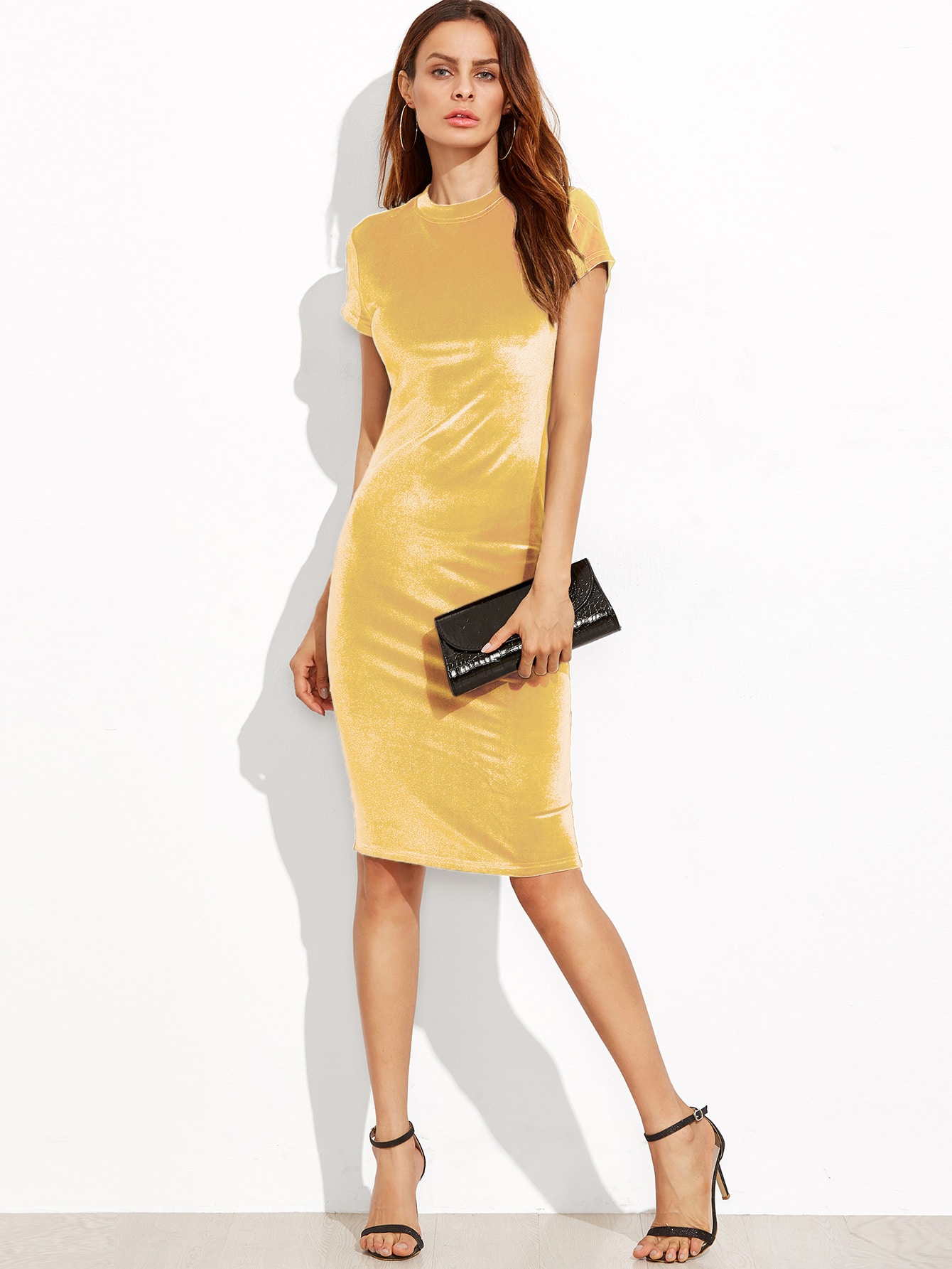 Женское Золотое Платье Купить