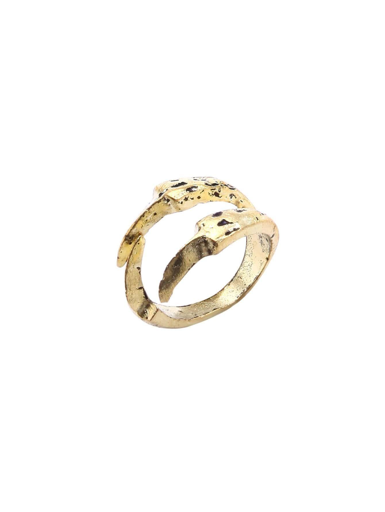 Antique Bronze Talons Modelling Retro Ring