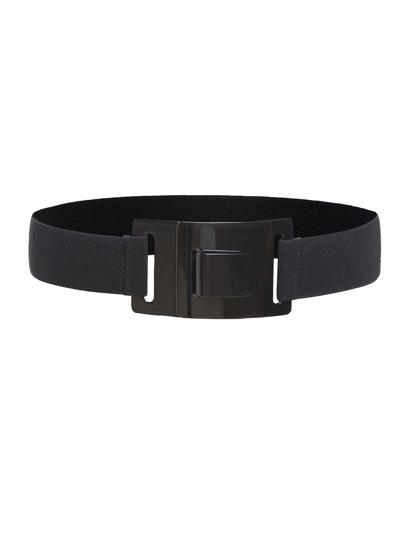 Black Elastic Waist Belt
