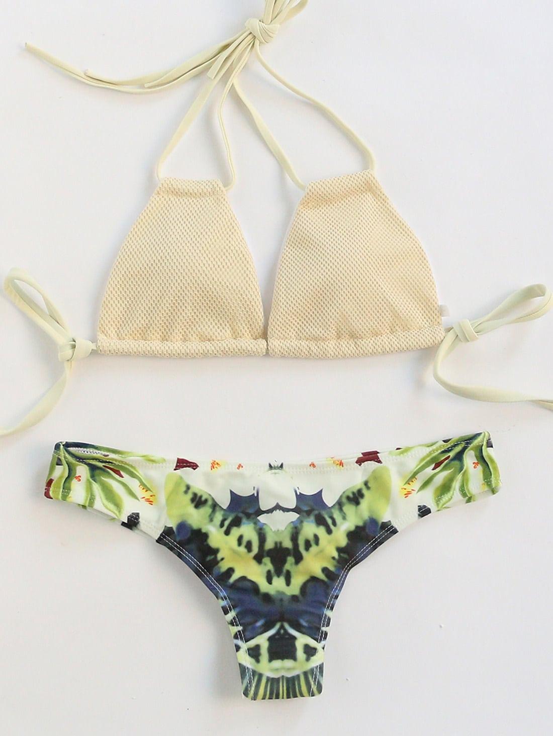 Фото Floral Print Mix & Match Sexy Bikini Set. Купить с доставкой