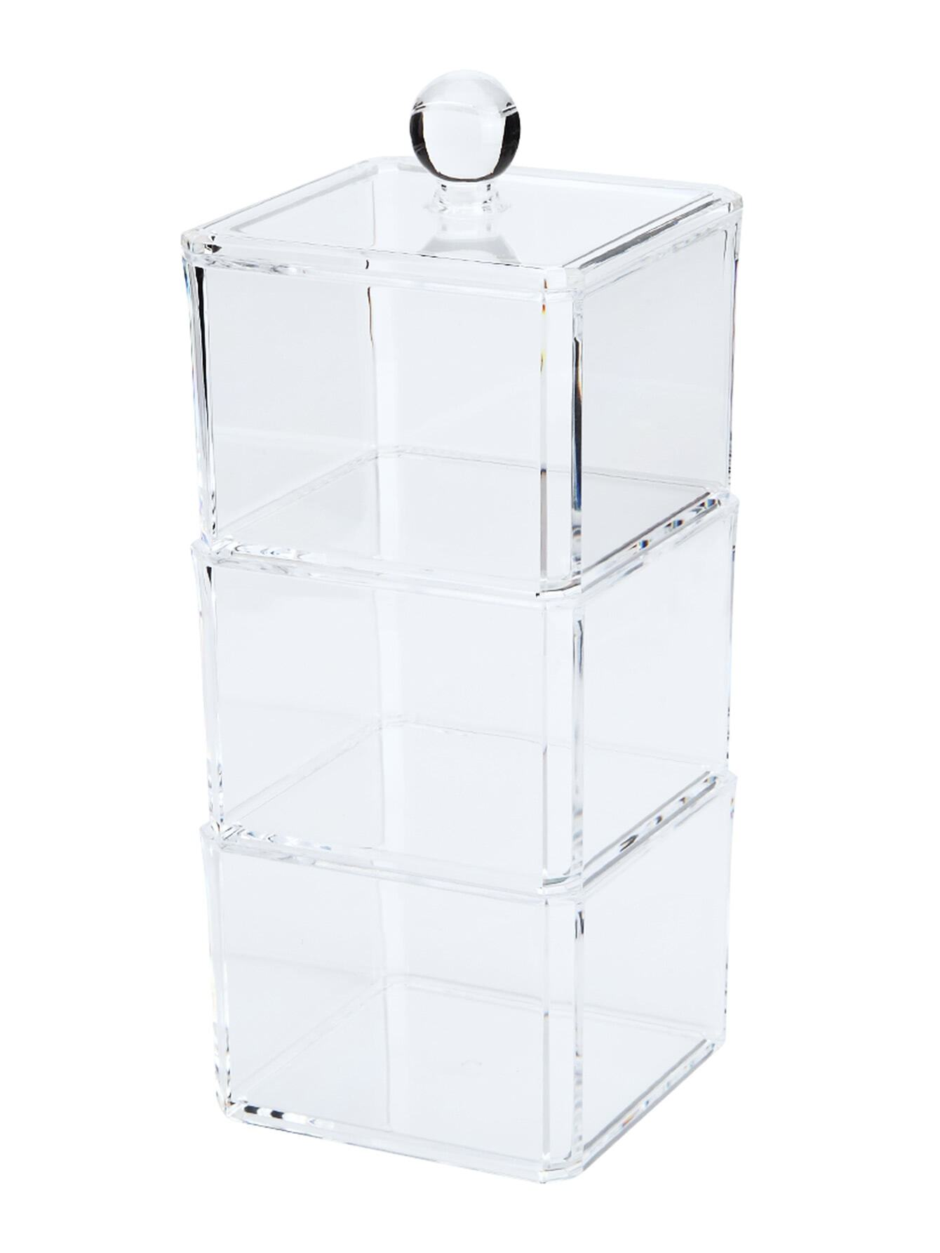 Image of 3 Layers Clear Professional Makeup Storage