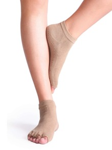 Khaki metà Toe Socks Yoga