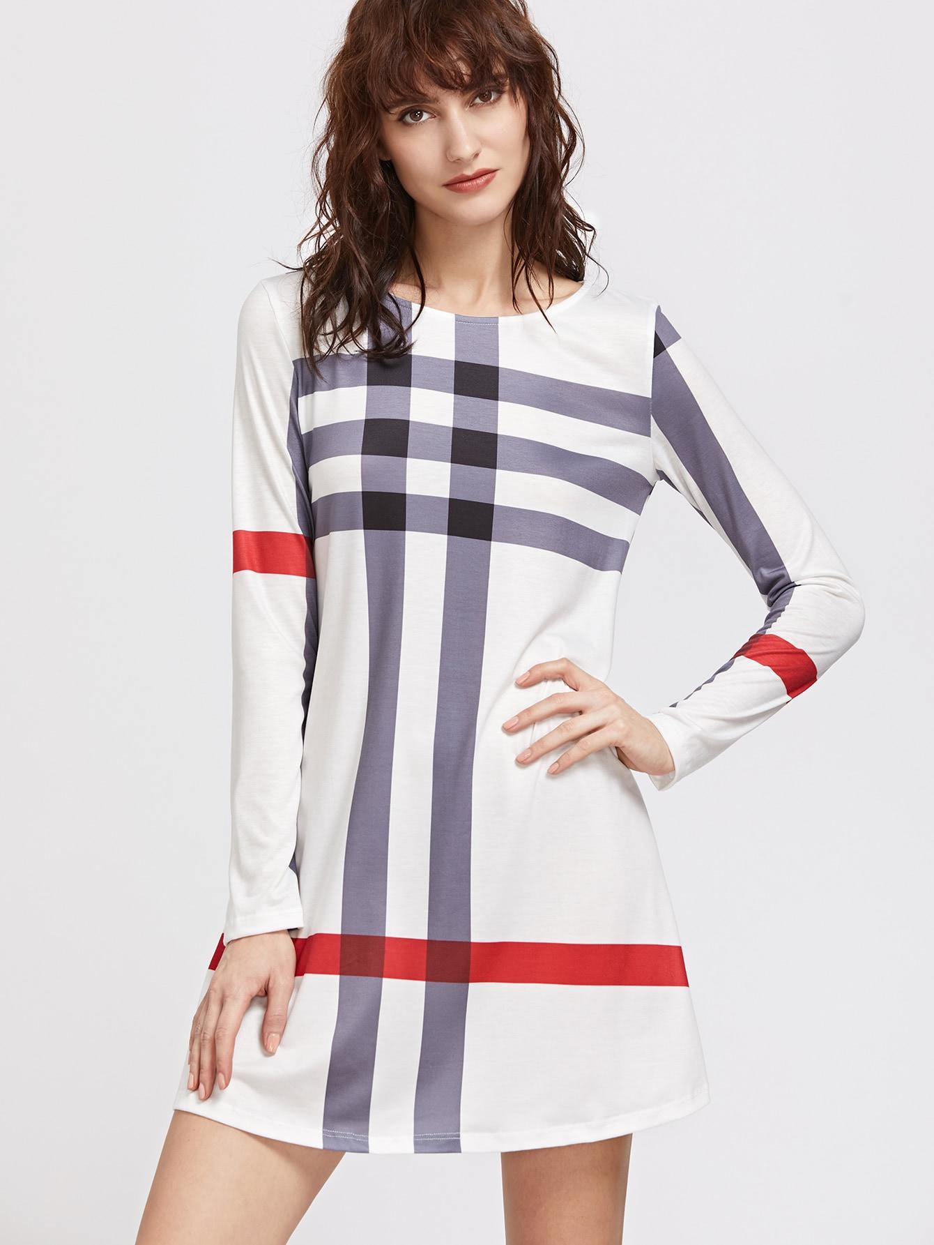 Фото Striped Tee Dress. Купить с доставкой