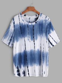 Tie Dye Print T-shirt