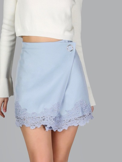 Wrapped Lace Skirt SKY