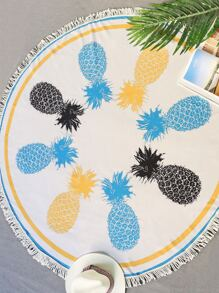 ananas pour fringe trim tour beach blanket