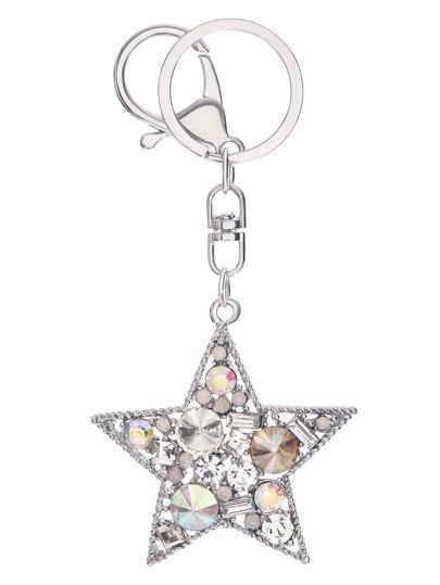 strass - silver star