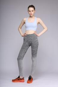 High Waist Ombre Space Dye Leggings