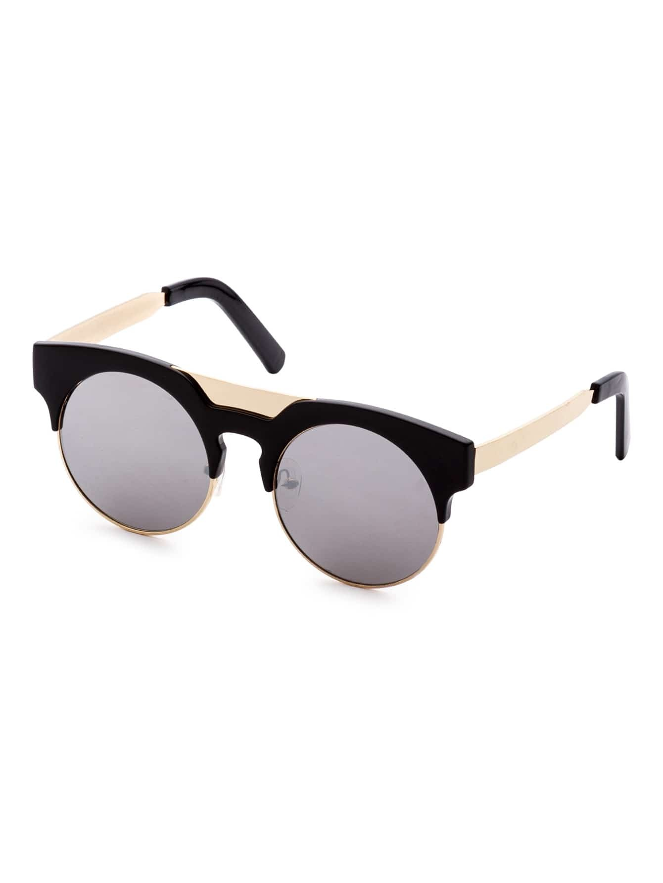 Shop black gold sunglasses at Neiman Marcus, where you will find free shipping on the latest in fashion from top designers. Gucci Retro Square Aviator Sunglasses, Gold/Black Details Gucci men's aviator sunglasses from the Cruise '18 Runway. Eye/bridge/temple (in mm): Lightweight metal and acetate frames.