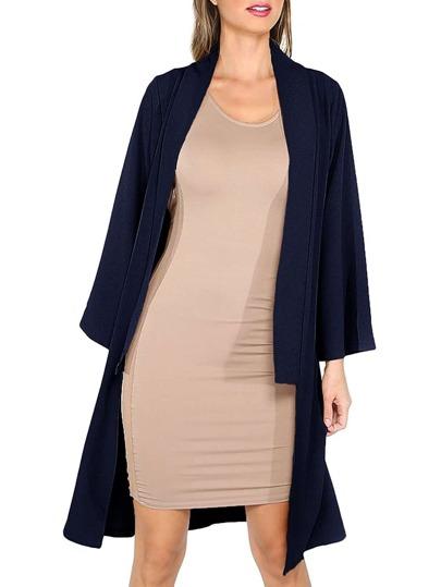 Open Front Kimono Sleeve Outerwear