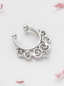 silver ne vine anneau