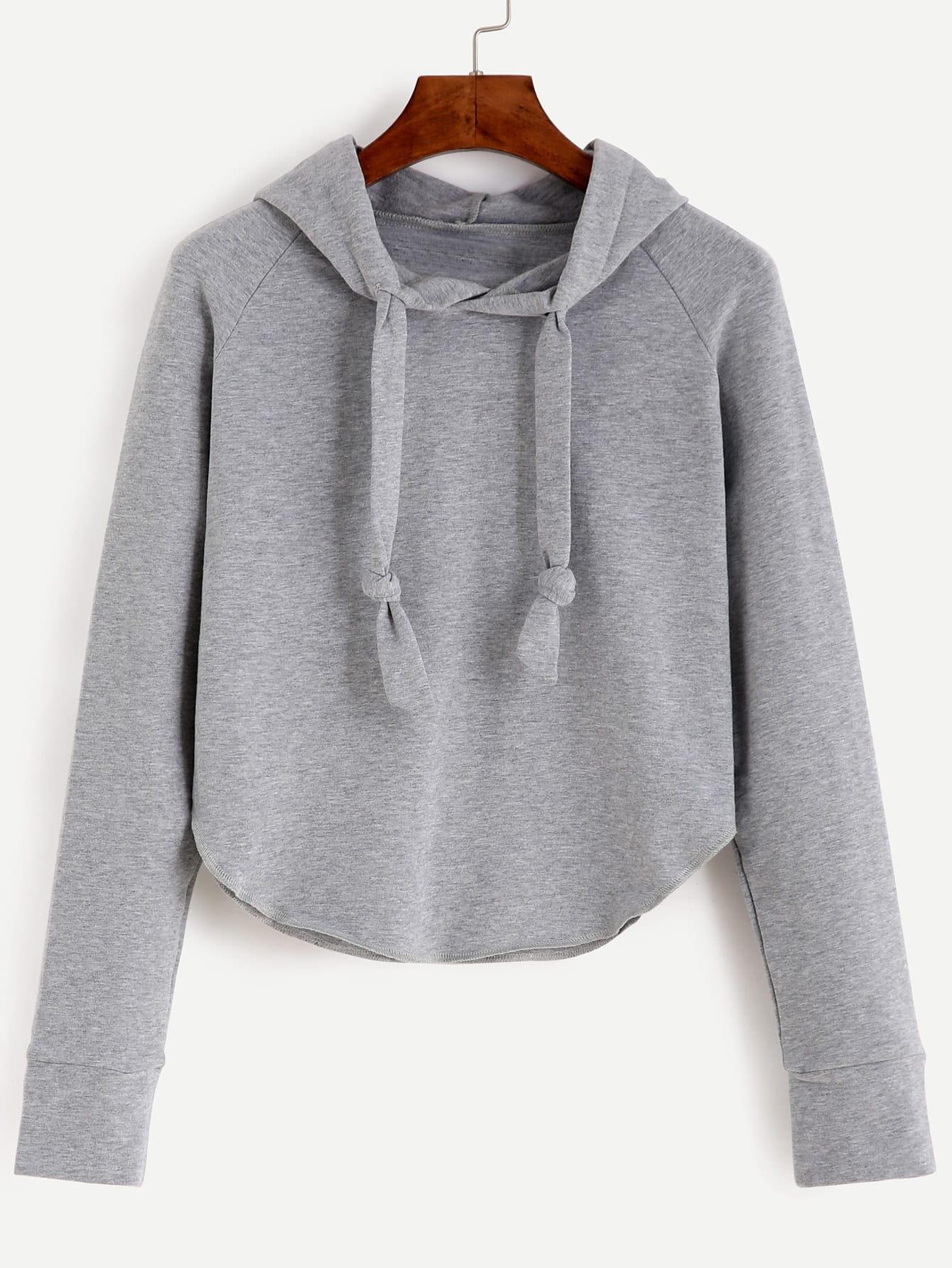 Фото Raglan Sleeve Hooded Sweatshirt. Купить с доставкой