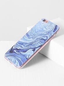 Blue Sea Print iPhone 6plus Case