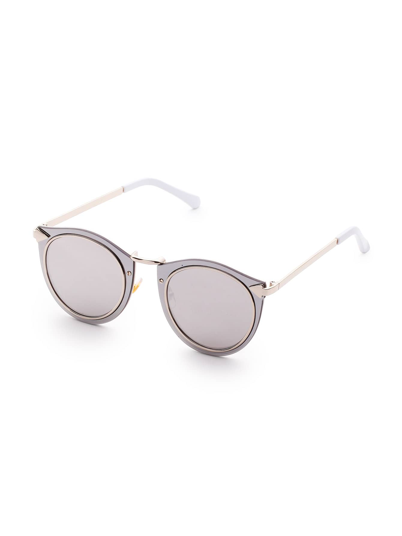 Double Frame Grey Lens Sunglasses