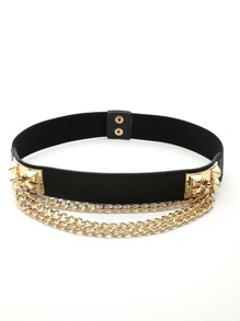Layered particolare Chain Belt