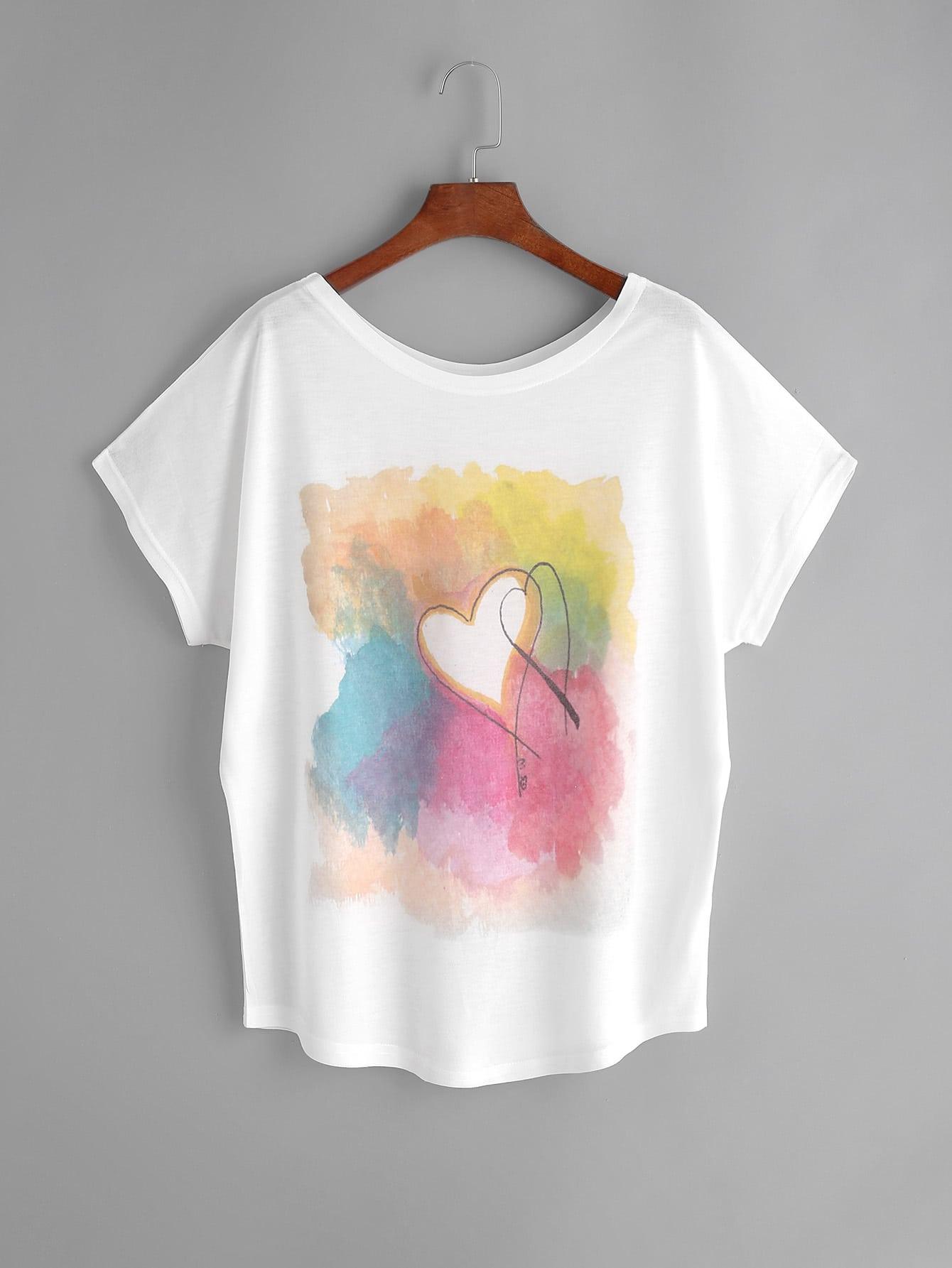 Acrylic Paint On Polyester Shirt
