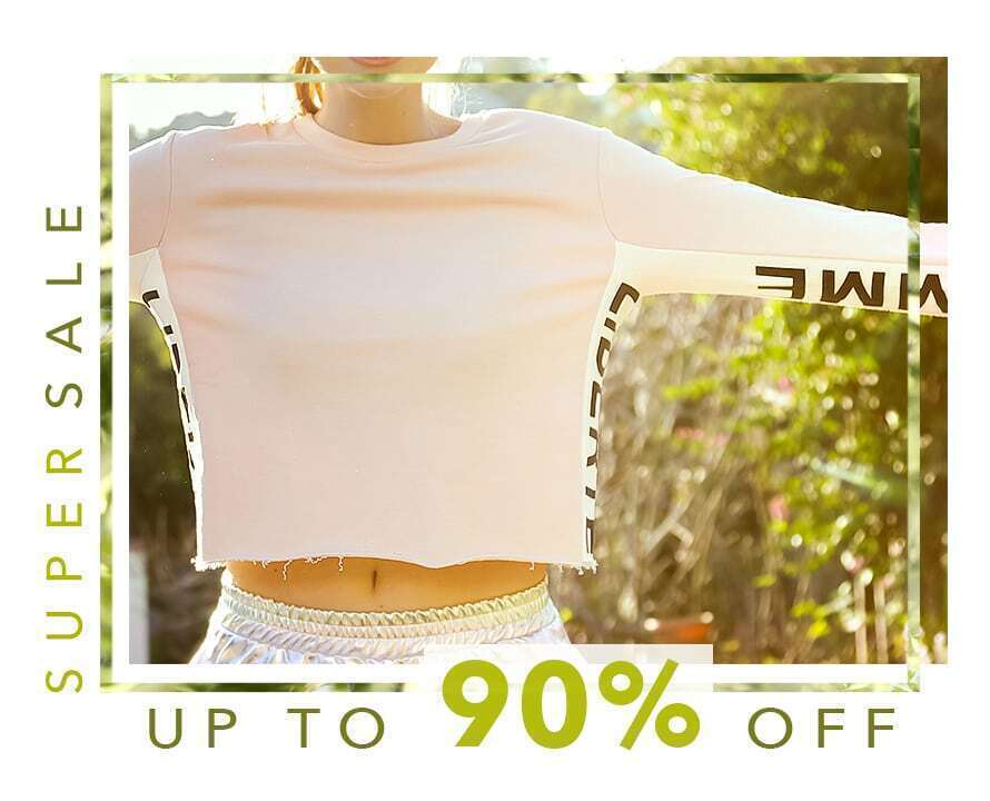 Super Sale  Up to 90% Off!