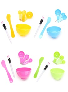 Random Color DIY Face Mask Bowl Set