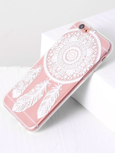 Feather Pattern iPhone 6/6S Case