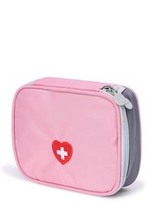 Bolso mini de emergencia con bordado de logo