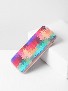 Multicolor Puzzle Print iPhone 6/6s Case