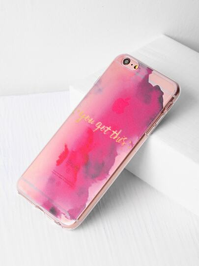 Watercolor Pattern iPhone 6 Plus/6s Plus Case