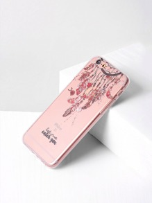 Clear Dreamcatcher Print iPhone 6/6s Case