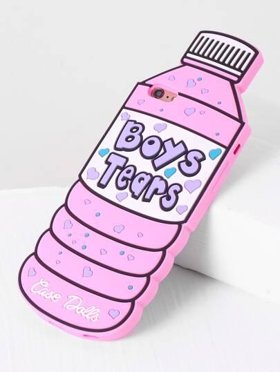 Pink Bottle Shape iPhone 6plus/6s Plus Case