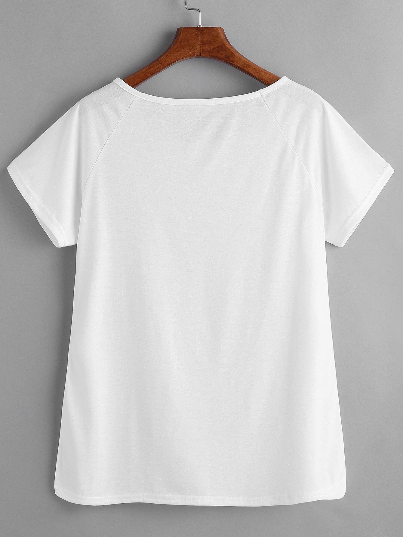 Модная вышивка на футболку