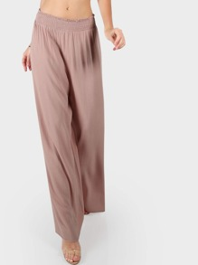 Wide Leg Flow Pants MAUVE