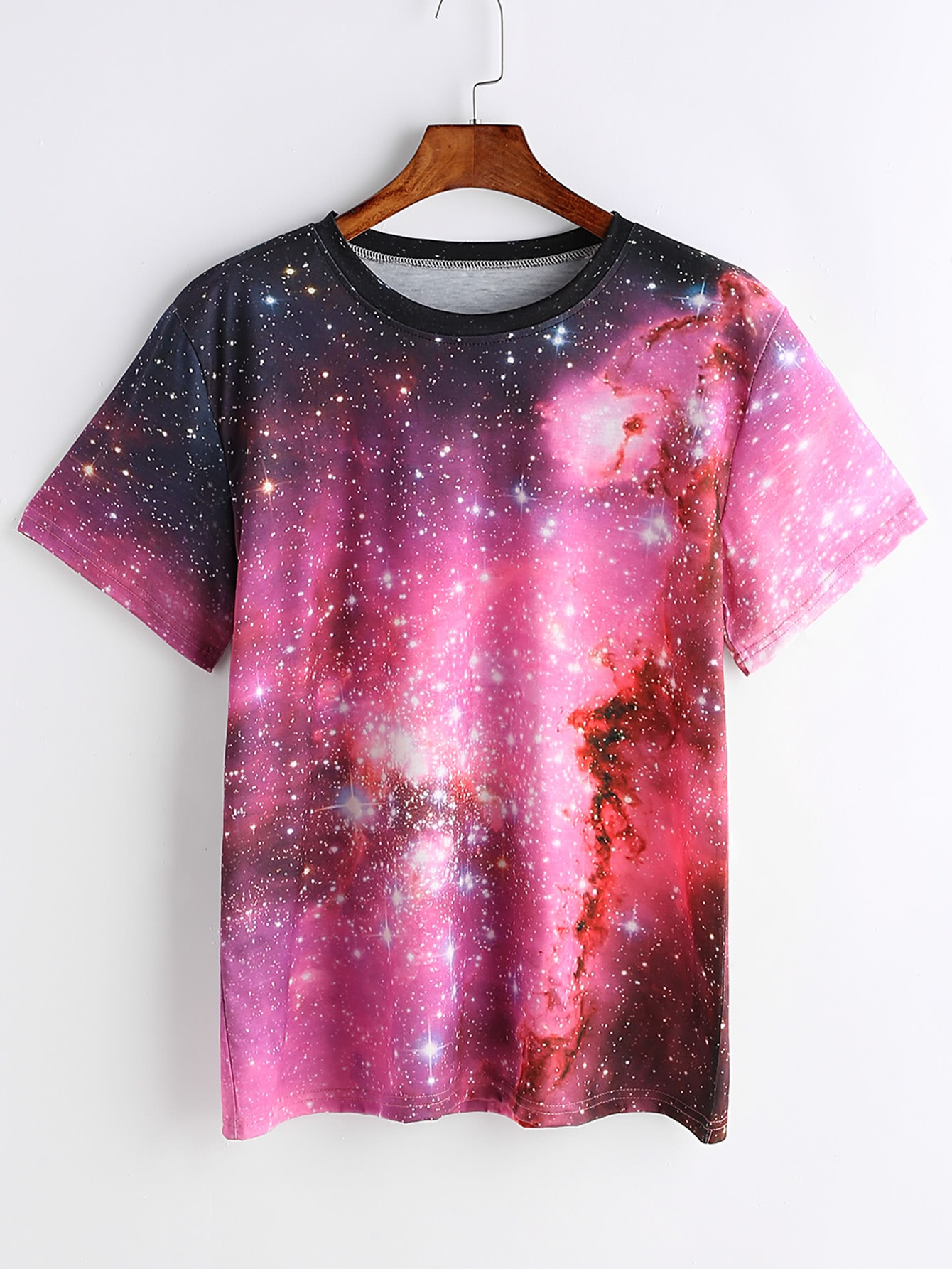 Starry Space Print T-shirt original supply 3138 158 64202 me5p 23 3138 6254 3 used disassemble