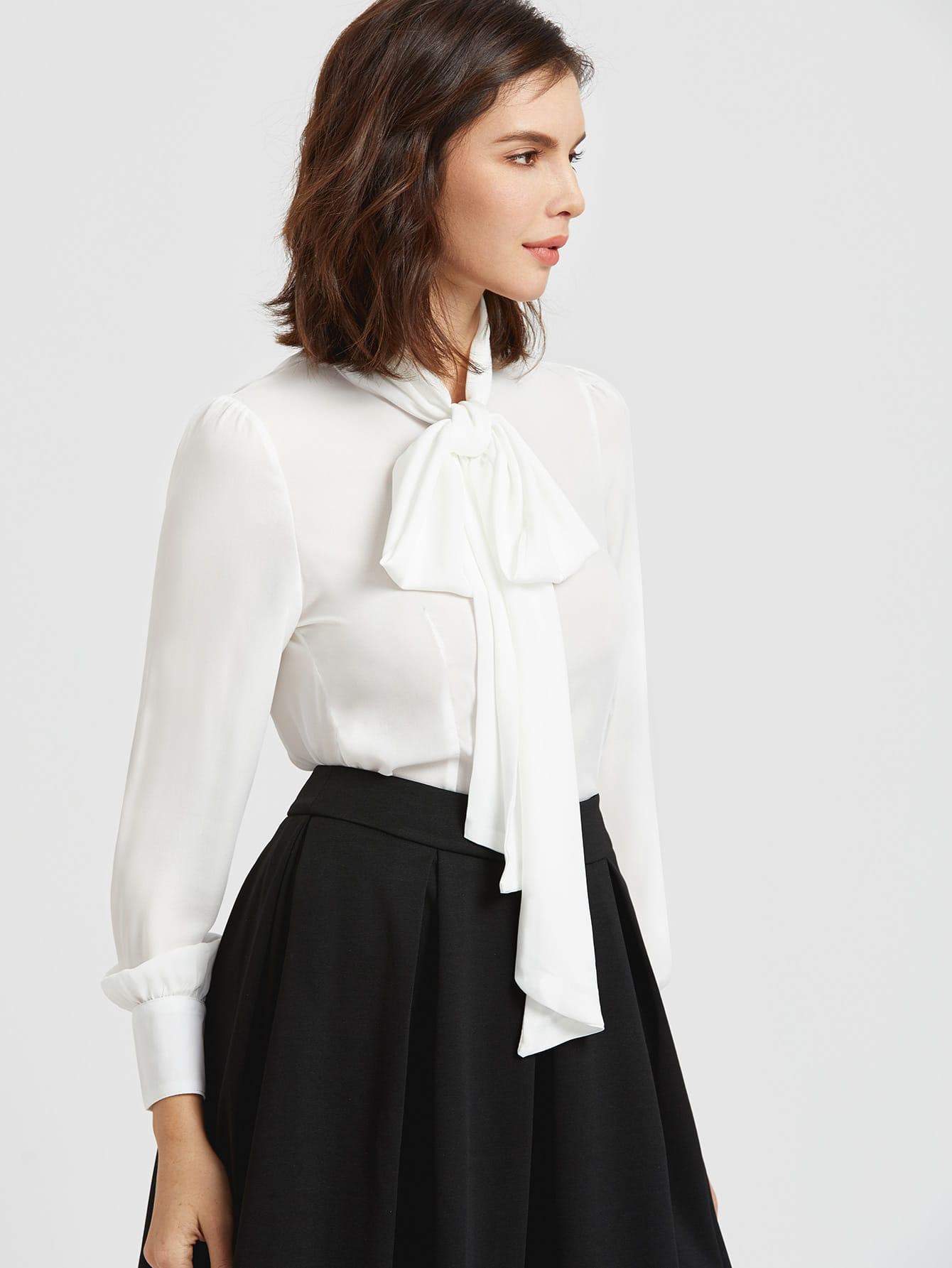 Купить Блузку С Бантом В Волгограде