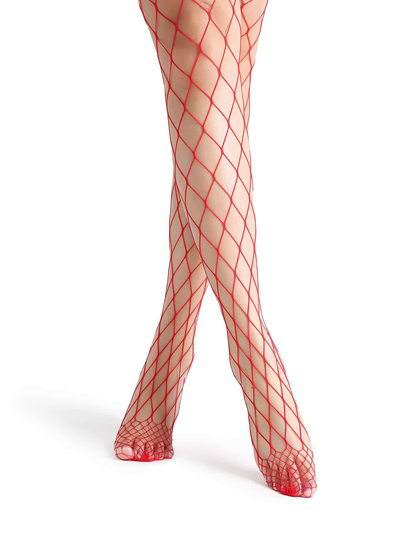 Red Sexy Fishnet Stockings 2015 new women sexy fishnet stockings fishnet pantyhose ladies mesh lingerie for female tights