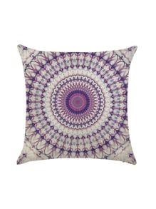 Flower Pattern Pillowcase Cover