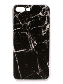 Black Marble Pattern iPhone 7plus Case