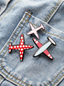 Red Aircraft forma di Pin Set