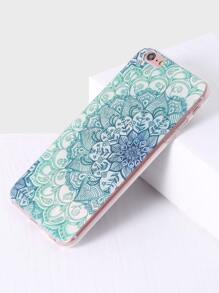 Green Floral Pattern iPhone 6/6S Case